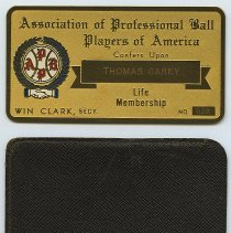 Image of card and sleeve