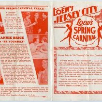 Image of Programs, 4, from Jersey City theaters, 1924-1930. Varying formats.
