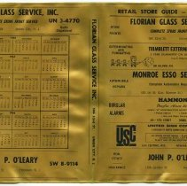 Image of Book jacket for telephone directory: Retail Store Guide - Hoboken, N.J. Issued fall 1964 for use in 1965.  - Jacket, Book