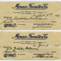 Image of Receipts, 2, from 1931