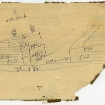 Image of detail reverse, back of letterhead