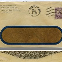 Image of Envelope: Autographic Register Co., N.W. Cor. 10th and Clinton Streets, Hoboken, N.J. Aug. 1932. - Envelope