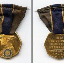 Image of medal, both sides