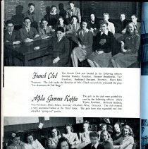 Image of Sentry_1943 018 Pg [16] French Club + Alpha Gamma Kappa