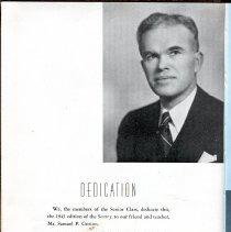 Image of Sentry_1943 004 Pg [2] Dedication Samuel P Gorton
