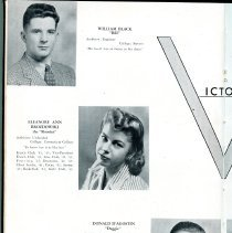 Image of Sentry_1943 008 Pg 6 Senior Class Biographies