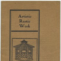 Image of front cover, title: Artistic Rustic Work