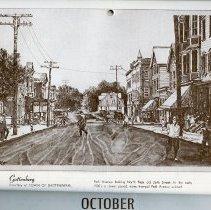 Image of artwork for October: Guttenberg, Park Avenue early 1900s