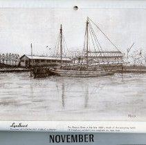 Image of artwork for November: Lyndhurst, Passaic River