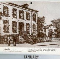 Image of artwork for January: Hoboken, Astor Villa