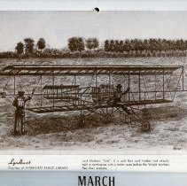 """Image of artwork for March: Lyndhust, Jack Holdens' """"Kite"""" (airplane)"""