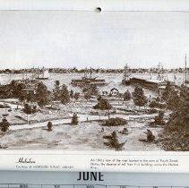 Image of artwork for June: Hoboken, Hudson Square Park + riverfront