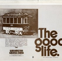 Image of Calendar: The Good Life. 1977 Appointment Calendar. Washington Savings Bank, 101 Washington St., Hoboken, N.J. & 6 branches. - Calendar
