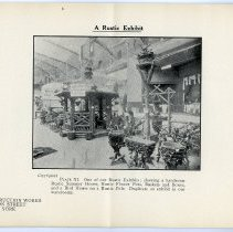 Image of pg [14] Plate XI; A Rustic Exhibit (possibly in an armory)