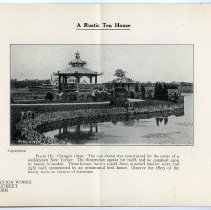 Image of pg [4] Plate III; A Rustic Tea House