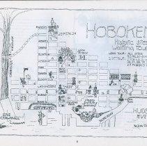 Image of pg 6 map: Hoboken Historic Sites Walking Tour