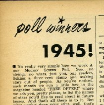 Image of detail pg 62: Poll Winners 1945
