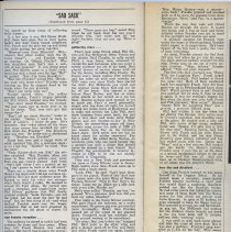 Image of Sinatra article, continuation on pp. 84-85
