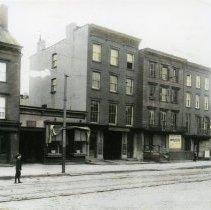Image of B+W photo of 617-623 Washington Street, Hoboken, circa 1911. - Print, Photographic