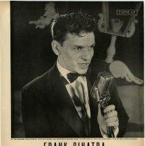 "Image of pg 55: Close-Up. Frank Sinatra. ""Bedroom singer"" from Hoboken ..."