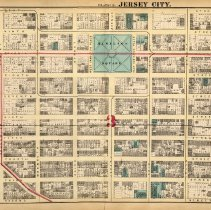 Image of 15 Hopkins 1873 Jersey City Plate E Pp 50-51