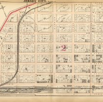 Image of 16 Hopkins 1873 Jersey City Plate F Pp 54-55