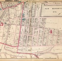 Image of 17 Hopkins 1873 Jersey City Plate G Pp 58-59