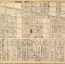 Image of 22 Hopkins 1873 Jersey City Plate L Pp 76-77