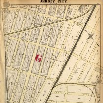 Image of 24 Hopkins 1873 Jersey City Plate N Pg  83