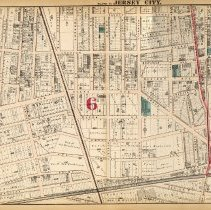 Image of 25 Hopkins 1873 Jersey City Plate O Pp 86-87
