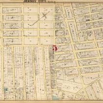 Image of 27 Hopkins 1873 Jersey City Plate Q Pp 94-95