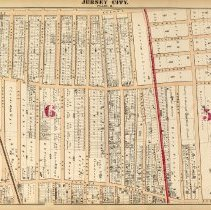 Image of 28 Hopkins 1873 Jersey City Plate R Pp 98-99