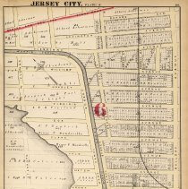 Image of 29 Hopkins 1873 Jersey City Plate S Pg 101