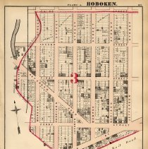 Image of 31 Hopkins 1873 Hoboken Plate A Pg 105