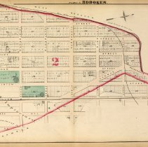 Image of 35 Hopkins 1873 Hoboken Plate E Pp 120-121