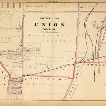 Image of 42 Hopkins 1873 Union Township Plate B Pp 144-145