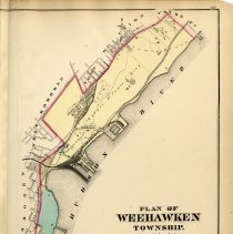 Image of 43 Hopkins 1873 Weehawken Township Pp 147