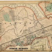 Image of 44 Hopkins 1873 North Bergen Township Pp 150-151