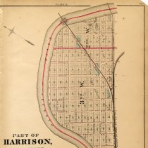 Image of 49 Hopkins 1873 Harrison - East Newark Plate B Pg 165
