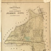 Image of 51 Hopkins 1873 Jersey City - Greenville Pg [167]