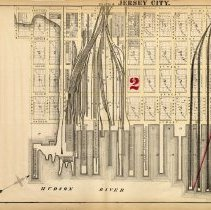 Image of 12 Hopkins 1873 Jersey City Plate B Pp 38-39
