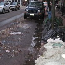Image of Img_4130 mud and debris; trash bags