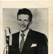 Image of pg [1] Sinatra photo; CBS microphone