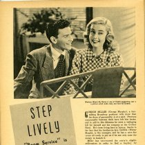 Image of 41 Pg 42; movie Step Lively (Room Service musical version)