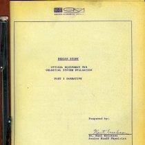 Image of Design Study. Optical Equipment for Celestial System Navigation. K&E Optics & Metrology Div., Hoboken, N.J., (1962.) - Report, Technical