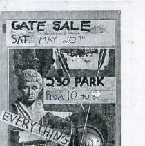 Image of Gate Sale 012. 05-20-1995 230 Park Avenue