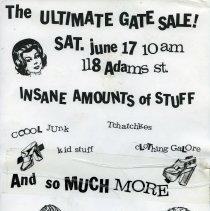 Image of Gate Sale 013. 06-17-1995 118 Adams St.