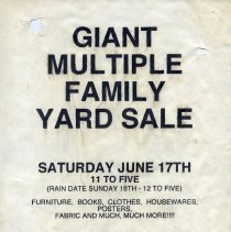 Image of Gate Sale 002. 06-27-1995 1023 Clinton St