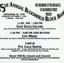 Image of Gate Sale 020. 09-30-1995 Bloomfield 800 Block