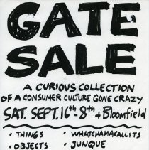 Image of Gate Sale 024. 09-16-1995 8th & Bloomfield